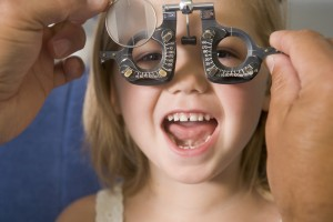 eye exam for children